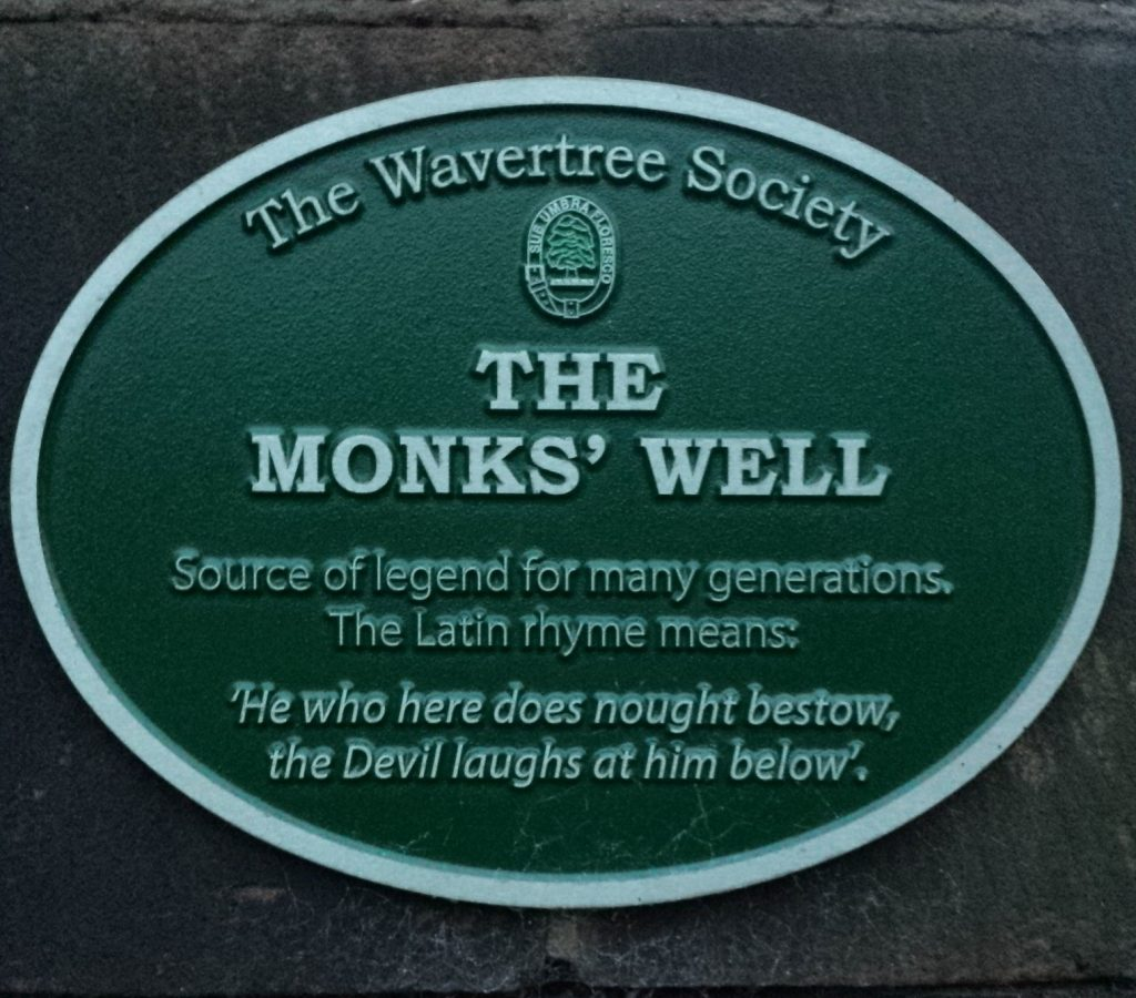 WAVERTREE: THE MONKS' WELL