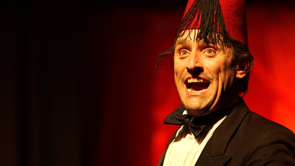 HAPPY BEING SAD? THE TOMMY COOPER SHOW